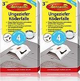 Aeroxon Ungeziefer Köder-Falle 8 Stück – zuverlässige Ungezieferbekämpfung – Schabenfalle,...