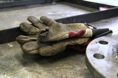 Pflege von Arbeitshandschuhen